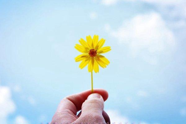 用积极的心态看世界